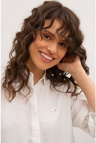 U.S. Polo Assn. Kadın Dokuma Gömlek 50218926-VR019