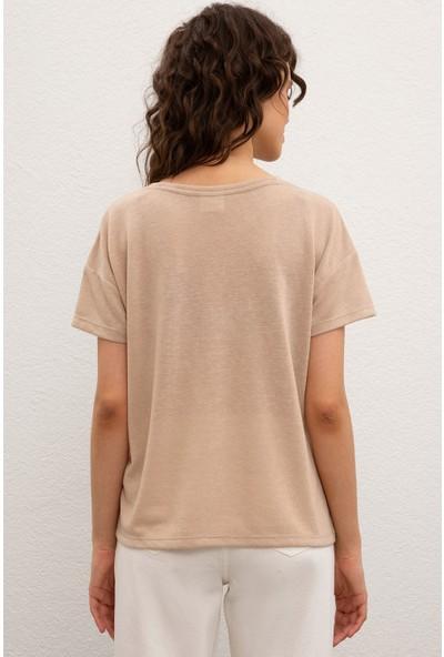 U.S. Polo Assn. Kadın T-Shirt 50218040-999