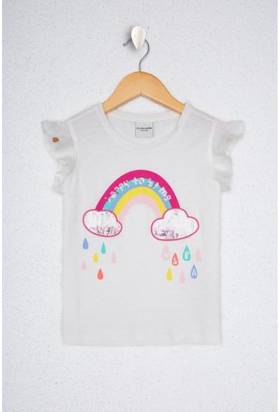 U.S. Polo Assn. Kız Çocuk T-Shirt 50218965-VR184