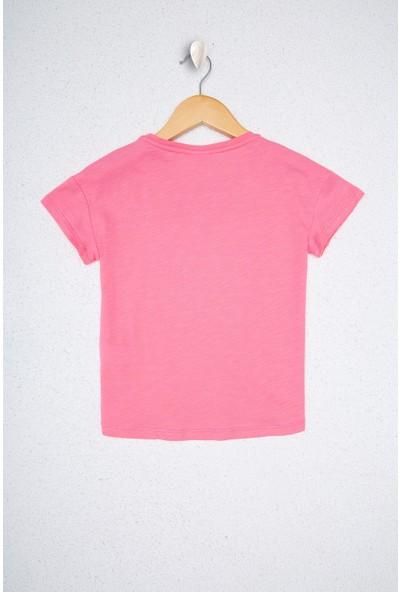 U.S. Polo Assn. Kız Çocuk T-Shirt 50223606-VR041
