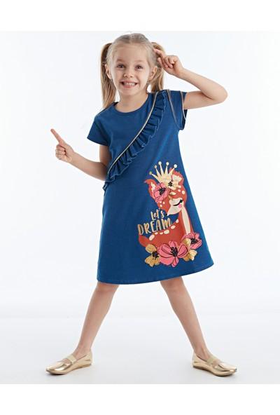Denokids Dream Fırfırlı Kız Çocuk Elbise