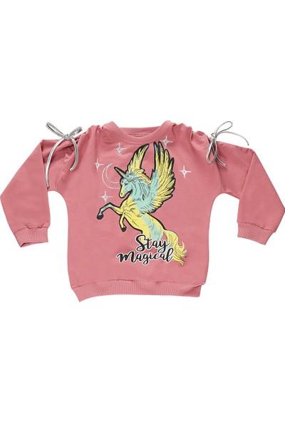 Mushi Stay Magıcal Kız Çocuk Sweatshirt