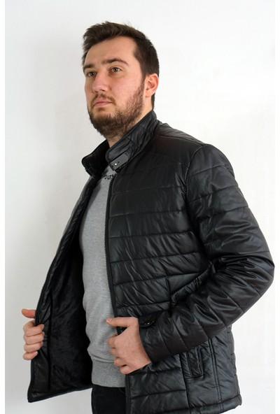 Bigazzi Siyah Tay Tüylü Deri Ceket