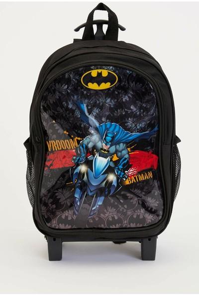 Defacto Erkek Çocuk Batman Lisanslı Sırt Çantası