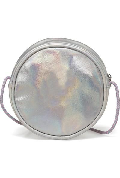 I Cool SGALF2002 Gümüş Kız Çocuk Çapraz Çanta