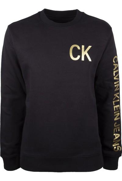 Calvin Klein Erkek Sweatshirt 41Q9000-010