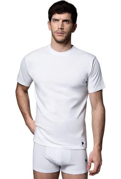 U.S. Polo Assn. Kısa Kollu Yuvarlak Yaka T-shirt