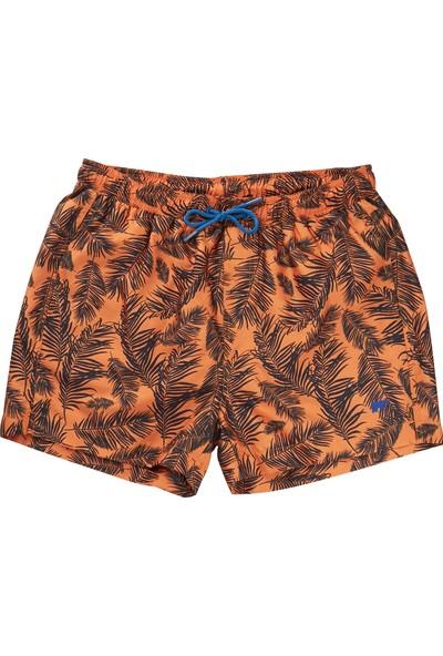 Bad Bear Turuncu Erkek Deniz Şortu Stream Orange