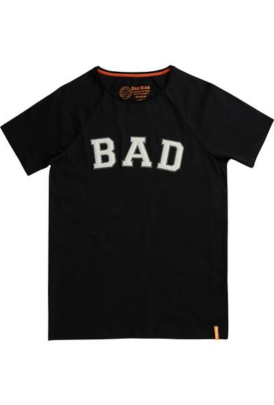 Bad Bear Siyah Erkek T-Shirt Bad Convex Tee Night