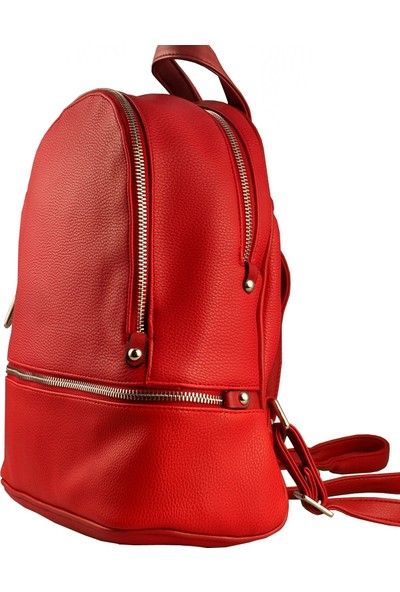Mimodish Kadın Sırt Çantası Kırmızı
