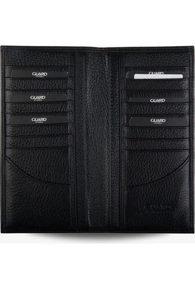 Guard Deri Klasik Erkek Cüzdanı 3010 Siyah