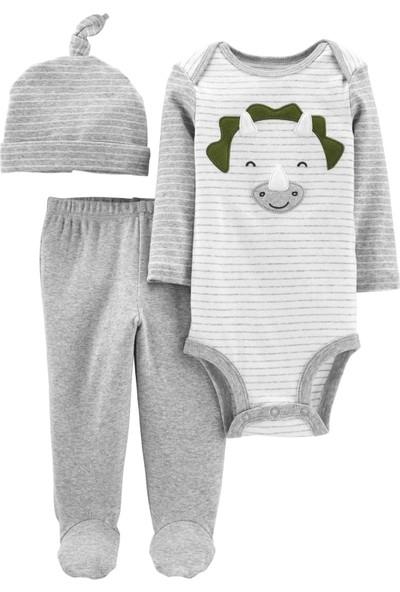 Carters Layette Erkek Bebek 3'lü Set 19617410