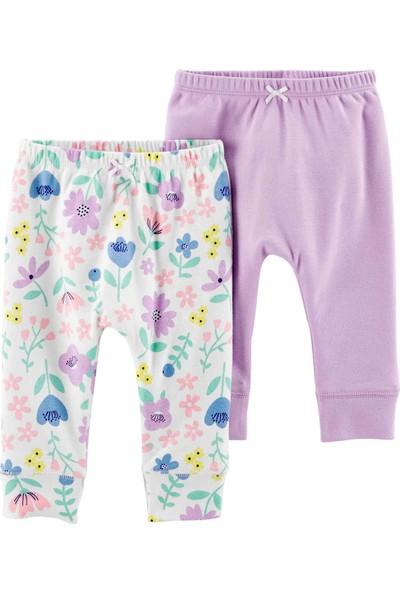 Carters Layette Kız Bebek 2'li Pantolon 1H452610