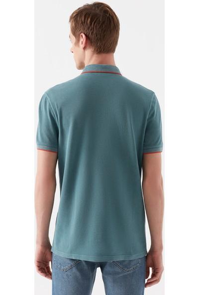 Mavi Yeşil Polo T-Shirt