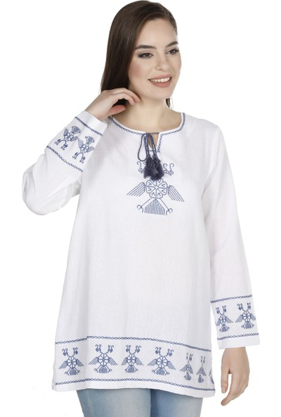 Eliş Şile Bezi Türkan Bluz Tunik