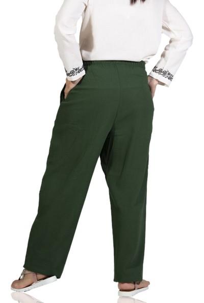 Eliş Şile Bezi Kadın Şalvar Pantolon
