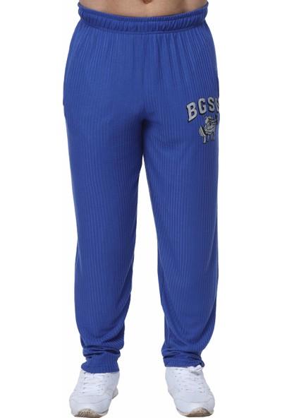 Big Sam Fitness Gym Pantolon Eşofman Altı Mavi 1204