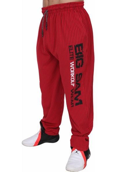 Big Sam Geniş Kesim Çizgili Body Pantolon Eşofman Altı
