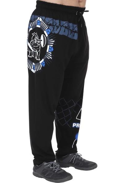 Big Sam Fitness Mevsimlik Spor Pantolon Eşofman Altı Siyah 1201