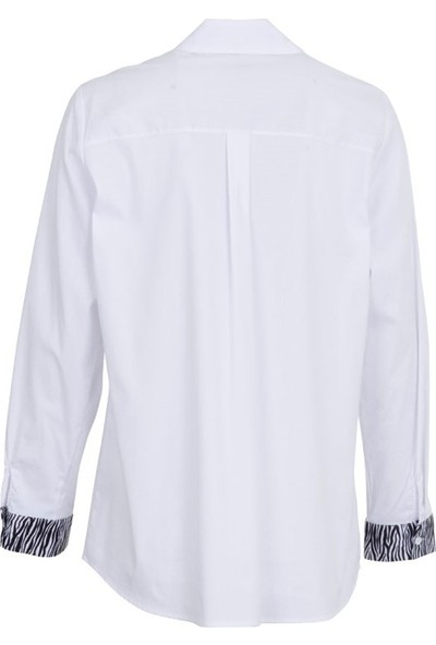 Grandi 1241 Kadın Bluz Beyaz