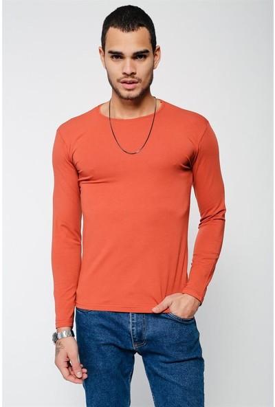 Lafaba Erkek Kiremit T-Shirt