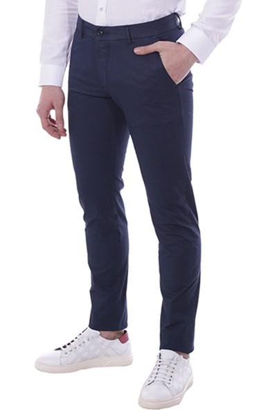 Diandor Dar Kesim Yandan Cepli Erkek Pantolon 3003 K.Lacivert/D.Navy 1923003