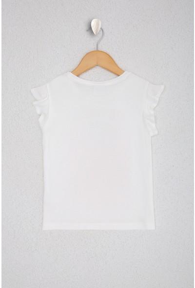 U.S. Polo Assn. Kız Çocuk T-Shirt 50218972-VR184