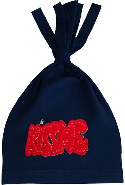 By Leyal For Kids Unisex Bebek Kıss Me Detaylı Şapka