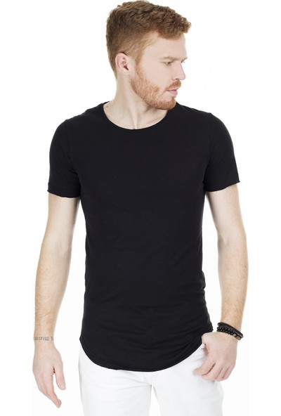 Cazador Bisiklet Yaka T-Shirt Erkek T-Shirt Caz 4029