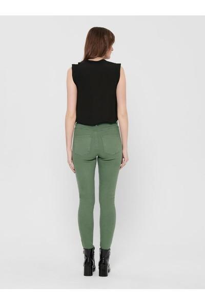 Only Kadın Yüksek Bel Renkli Jean Pantolon 15196981