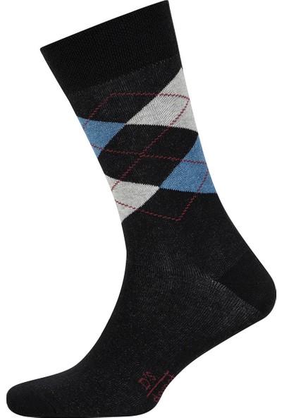 D's Damat Erkek Ekose Çorap