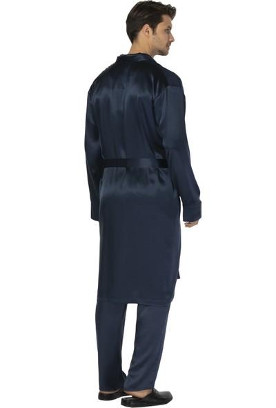 D's Damat Ipek Pijama Kadın Sabahlık Takımı