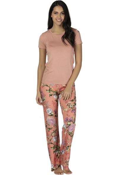 u&me Romantıc Flower Pijama Takımı