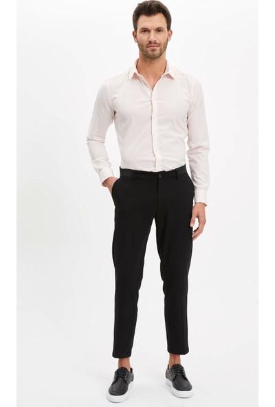 DeFacto Erkek Basic Ekstra Slim Fit Gömlek