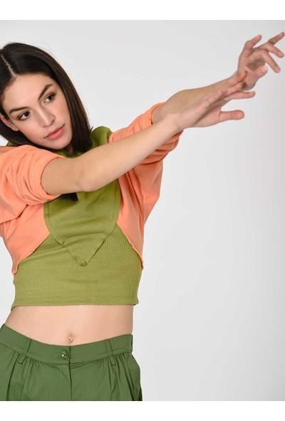 Roman Kadın Renkli Sweatshirt-Y1954120-482
