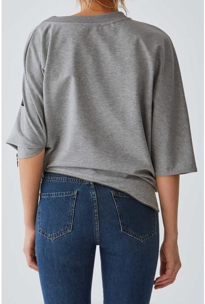 Roman Kadın Y19 54106 Sweatshirt-Y1954106-004