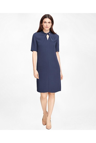 Brooks Brothers Yarım Kollu Elbise