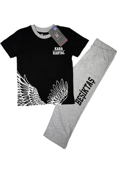 Kartal Yuvası Beşiktaş T-Shirt Takım (2-7 Yaş) Lisanslı -BJK2446