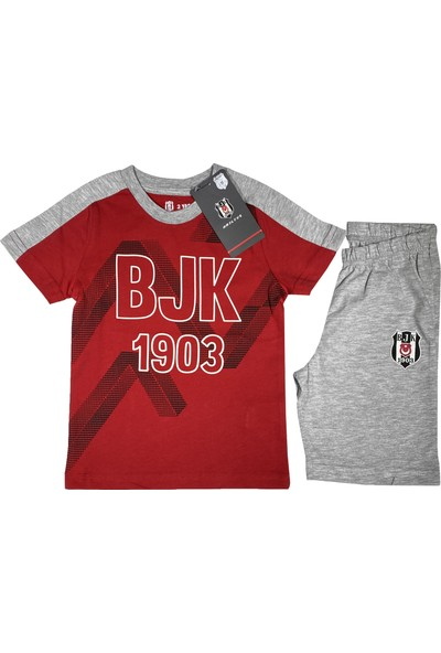Kartal Yuvası Beşiktaş T-Shirt Takım (2-7 Yaş) Lisanslı -BJK2449