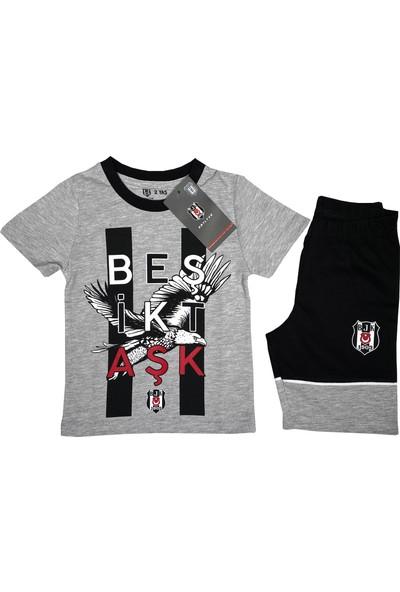 Kartal Yuvası Beşiktaş T-Shirt Takım (2-7 Yaş) Lisanslı -BJK2452