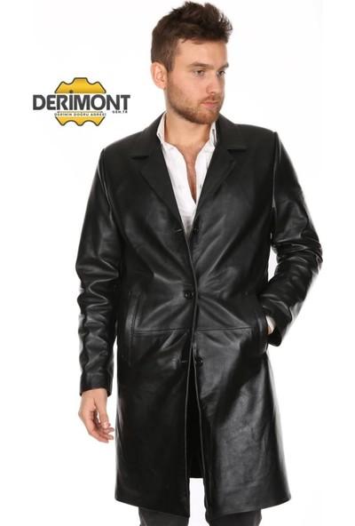 Derimont's Erkek Deri Pardesü