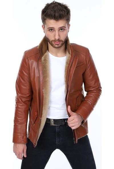 Derimont's Taba Erkek Deri Ceket