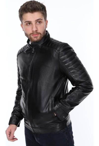 Derimont's Nari Siyah Erkekderi Ceket