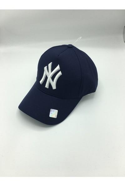 Gonca Şapka Ayarlanabilir Ny Nakışlı Kep