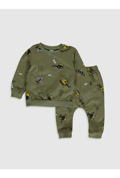 LC Waikiki Erkek Bebek Sweatshirt ve Pantolon