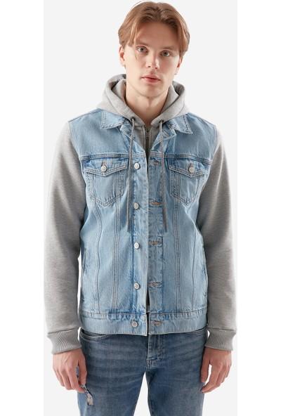 Mavi Erkek Sam Açık Jean Ceket