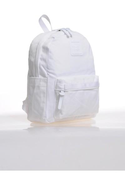 Smart Bags SMB6003-0002 Beyaz Kadın Sırt Çantası