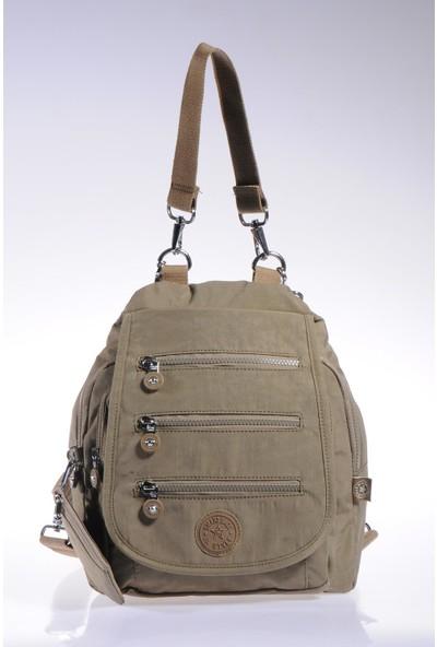 Smart Bags SMB1169-0007 A.kahve Kadın Sırt ve Omuz Çantası
