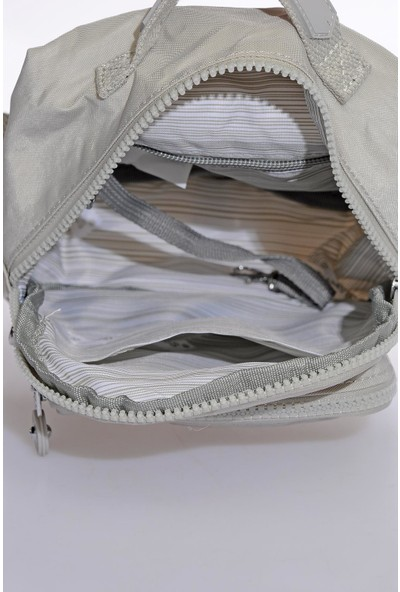 Smart Bags SMB3027-0083 Ice Gri Kadın Minik Sırt Çantası