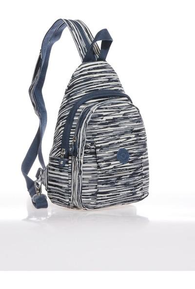 Smart Bags SMB1237-0126 Bej/laci Kadın Sırt Çantası